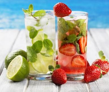 Refréscate con estas bebidas