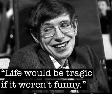 Stephen Hawking, descanse en paz.