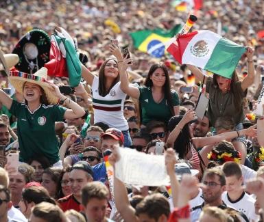 Los mexicanos han sido la sensación en Rusia