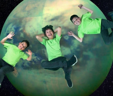 Xose Pablo, ganador del primer lugar sobre las lunas de Júpiter por la NASA